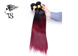 8A Full Ends Ombre Human Hair Extensions with Two Tone Color No Shedding